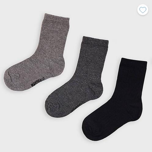 Mayoral lot de 3 paires de chaussettes