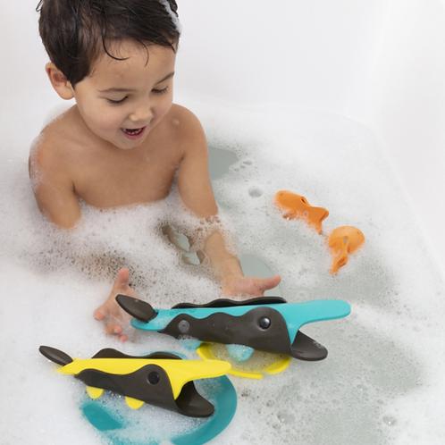 QUUT Jouet de bain à assembler Crocodiles