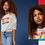 Thumbnail: Levi's kids T-shirt sweat gris avec noeud