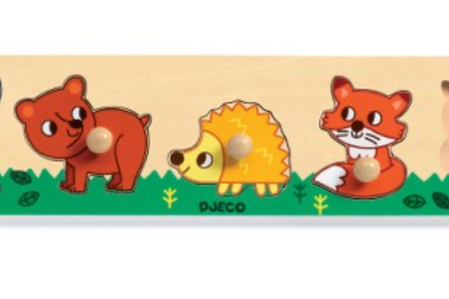 DJECO puzzle bois FOREST'N'CO