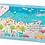 Thumbnail: Moulin Roty Puzzle à la mer 150 pièces