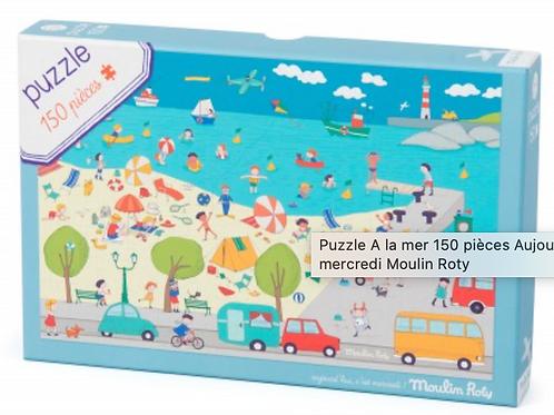 Moulin Roty Puzzle à la mer 150 pièces