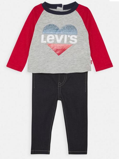 Levi's kids t-shirt et jegging brut