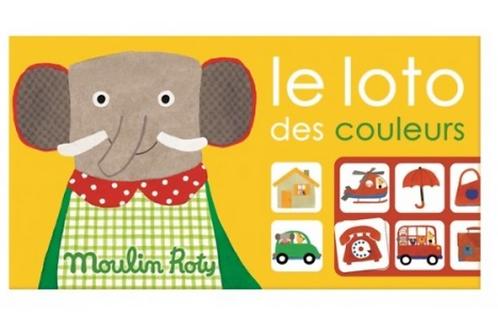 Moulin Roty Loto des couleurs