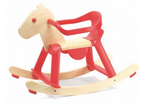 DJECO cheval avec arceau RED ROCK'IT