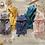 Thumbnail: BB&CO peignoir bébé bambou moutarde