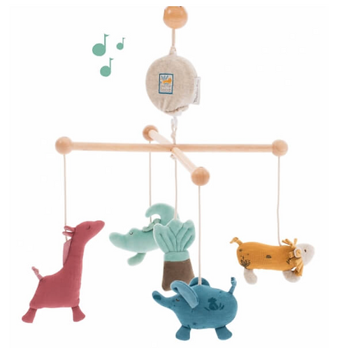 Moulin Roty mobile musical Sous Mon Baobab