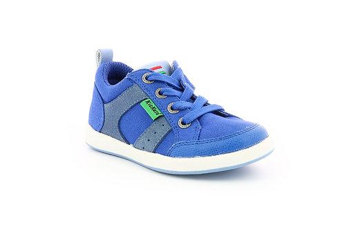Kickers Tomiloo bleu gris