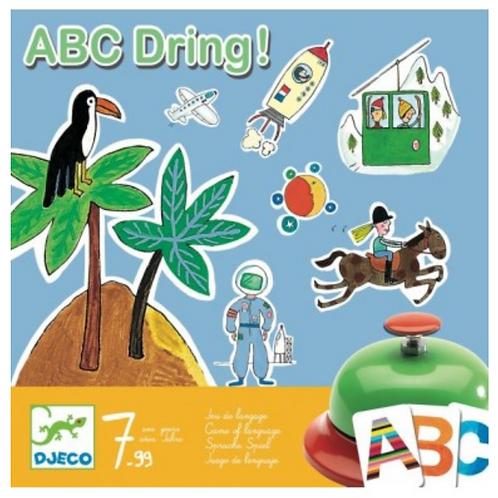 DJECO jeu ABC DRING