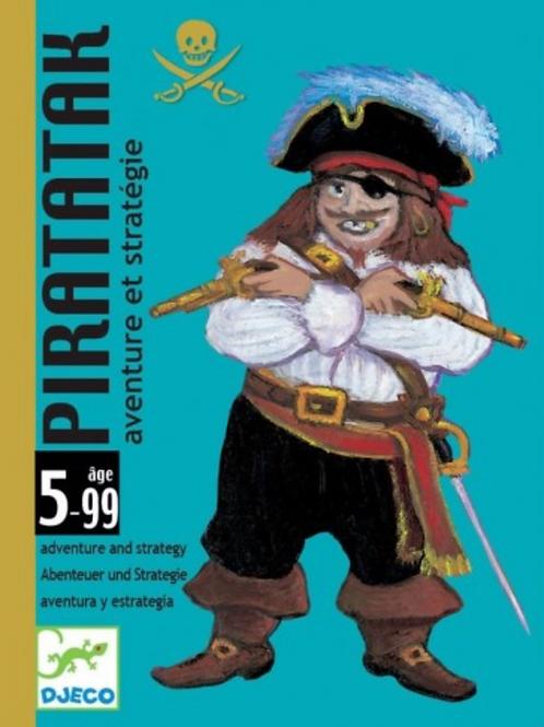 DJECO jeux de carte PIRATATAX