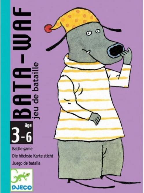 DJECO jeux de carte BATA WAF