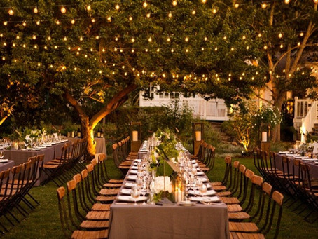 Tips para un matrimonio al aire libre