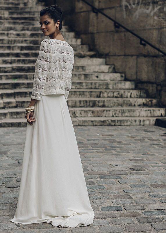Vestidos dos piezas novia