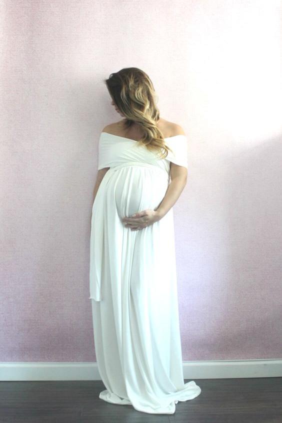 Vestidos de novia para embarazadas