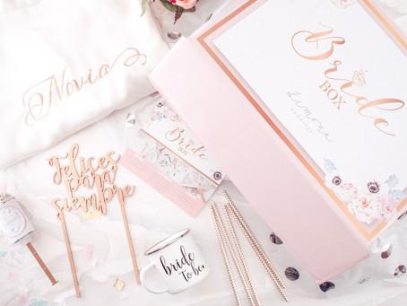Bride Box: Todos los meses una maravillosa caja tocará tu puerta