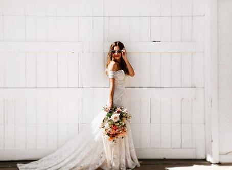 Las novias millennial dicen adiós a los vestidos tipo princesa
