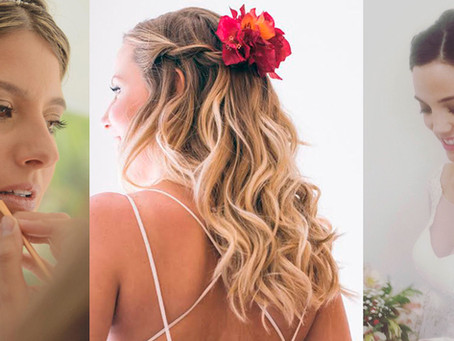 Carmen Bottinelli: Maquillaje y peinado para novias naturales