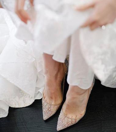 Tips para combatir el dolor de pies cuando eres la novia