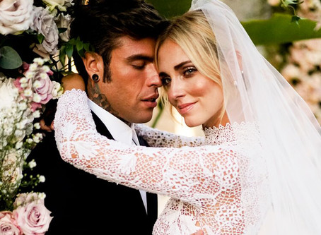 Los detalles de alto impacto del matrimonio de Chiara Ferragni y Fedez