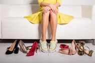 Errores más frecuentes al elegir los zapatos de novia