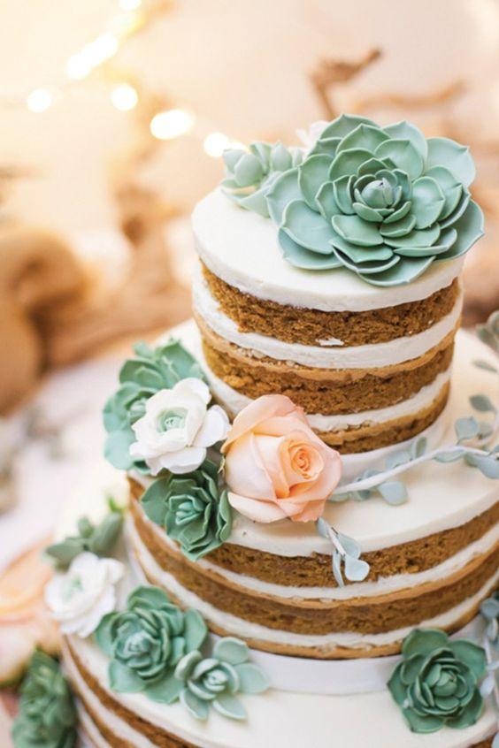 Naked cake en tu matri