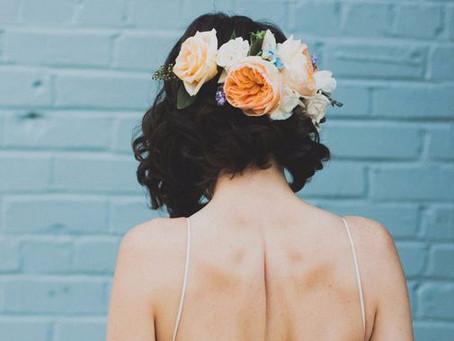 ¡Melenas rock! Peinados para novias de pelo corto