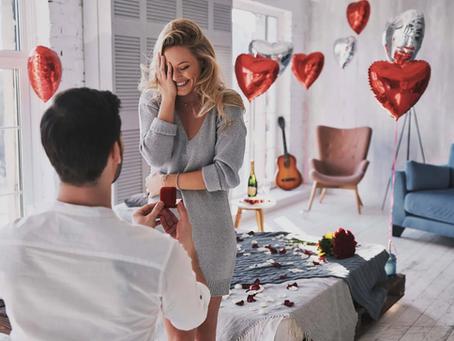 Cómo pedir matrimonio en casa