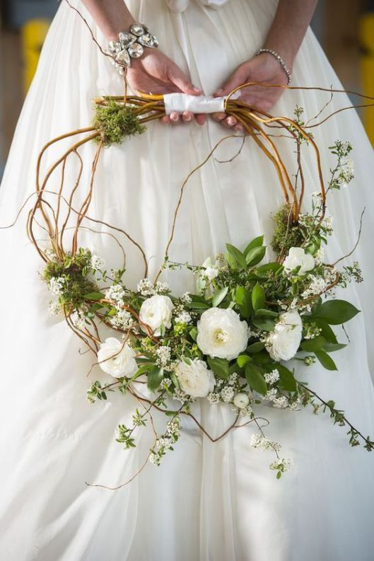 Ramo de flores novias