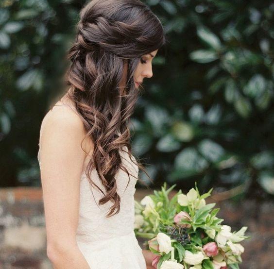 Peinados para vestidos Asimétricos