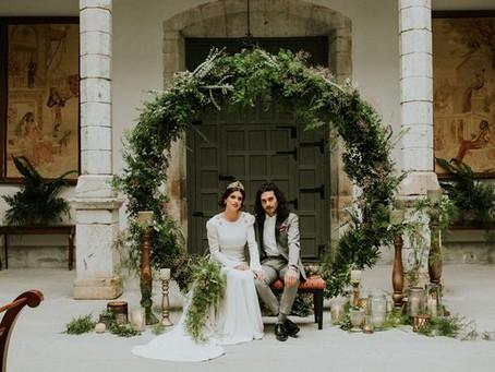 DYI: Una gran corona floral XXL para decorar tu matrimonio