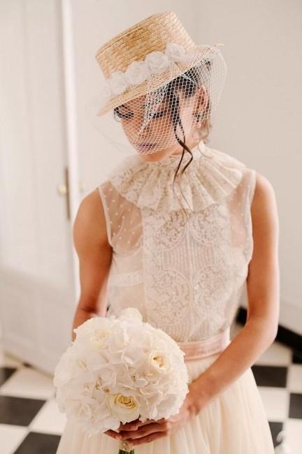 Sombreritos para novia