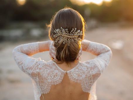 Elige el tocado de novia según tu estilo