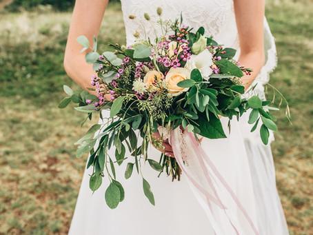 Tips para elegir el ramo de novia