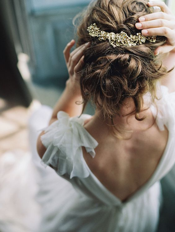 Peinados para novias playeras