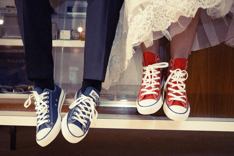 Converse para el matrimonio