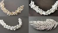 Santeria Tocados: Perlas y piedras naturales para tu peinado