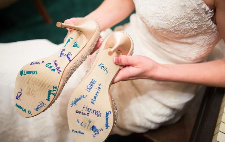 tradicion novias zapatos