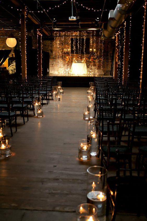 Decora el pasillo al altar