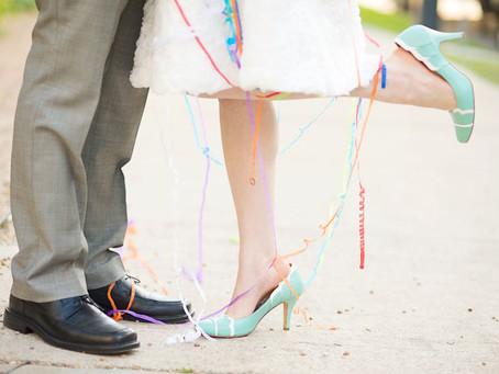 Adiós zapatos blancos ¡Y hola a los colores!