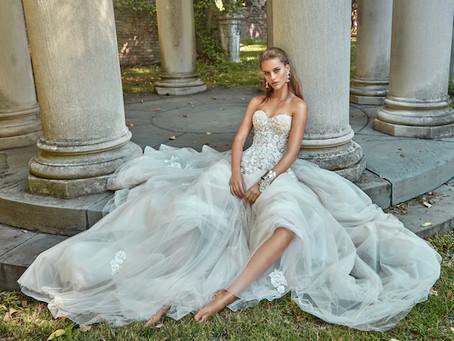 Los inspiradores vestidos de novia de Galia Lahav