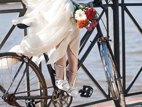 Gretaflora: Zapatos de novia inspirados en la época vintage