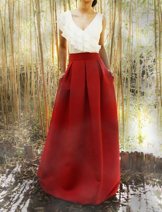 Vestido de novia a todo color
