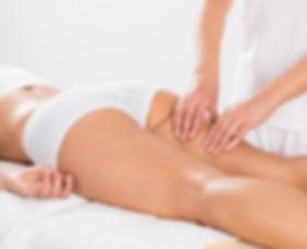 Canva - Female Customer Receiving Leg Ma