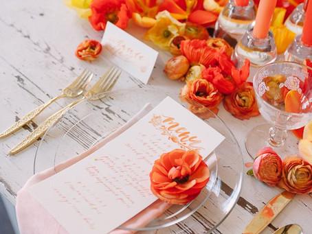 ¡Quiero una boda naranja!