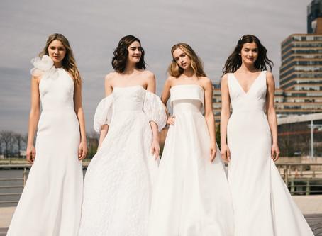 Las tendencias que nos deja el NY Bridal Week 2020