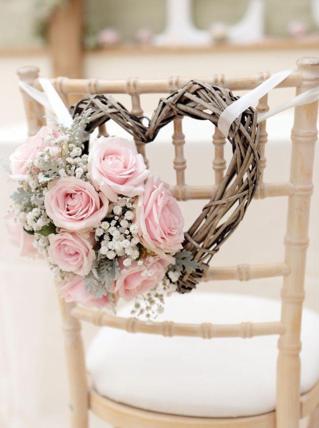 Decoración sillas matrimonio