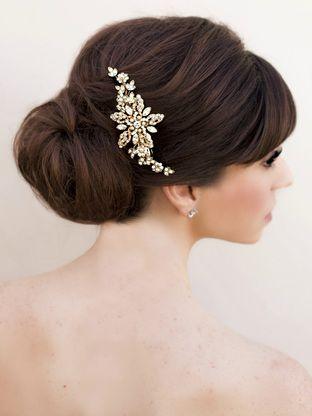 Peinados para novias vintage