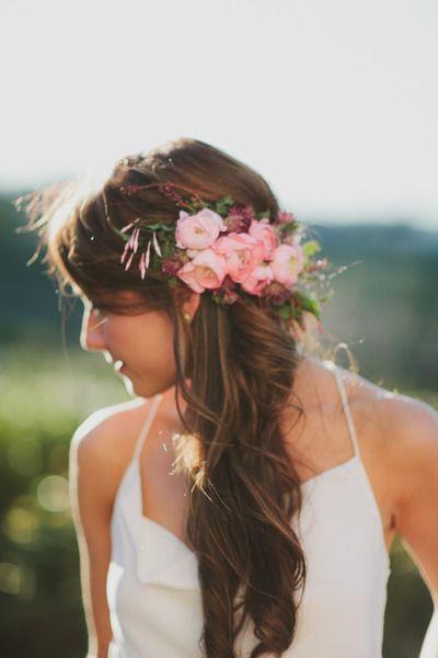 Peinados con cola para novias