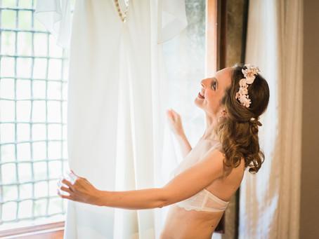 Antes de ponerte el vestido de novia