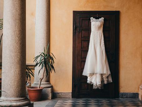 Cómo cuidar tu vestido de novia antes de usarlo